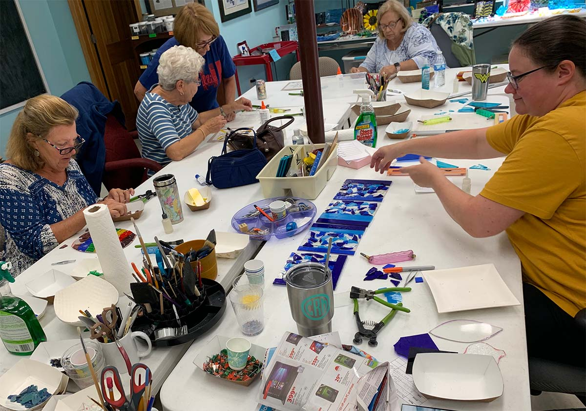Glass Class With Glass By Erica